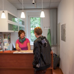U inn Berlin Hostel Reception
