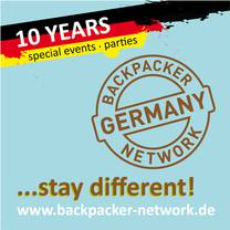 10 Years Backpacker Network Germany - January Special Offer